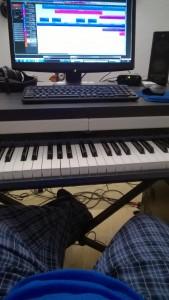 Composing in Pajamas